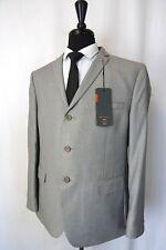 Men's Ben Sherman Grey Camden Super Slim Fit Mod Suit 44r W40 L30 Aa1578