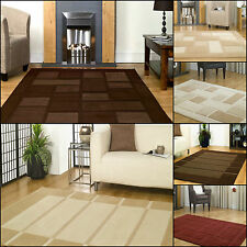 Checked Rectangle Living Room Rugs