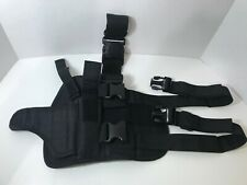 Molle Tactical Pistol Thigh Holster, Right Hand Adjustable, New