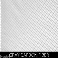 "Gray Carbon Fiber Dip Stickâ""¢ Hydrographic Film Car Truck Interior Exterior Phone"