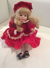 Vintage Musical WindUp Doll Bisque Porcelain Soft Expressions Animated Girl Doll