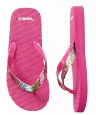 44863be34 Gymboree Pink Rainbow Sparkle Flip Flop Shoes Sandals Youth Girls Nwt Size  2-3