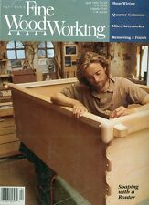 1992 Fine Woodworking Magazine: Shaping With A Router/Paulownia/Tenoning Jig