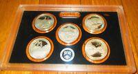 2011 Silver Quarter Proof Set US Mint Plastic America The Beautiful No Box/COA