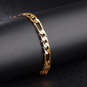 Golden Bangle Men Pulseira Bracelet Male Jewelry StainlessSteel Accessories Gift