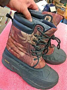 BS5 Ranger Winter Boots Men's Size 7 Heavy Duty  Waterproof Lace Up Camo hunting