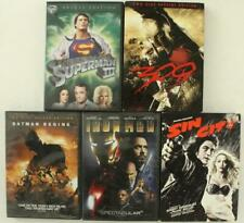 Dvd 5Pc Lot Action Movies Comic Book/Graphic Novel Superman Batman 300 Sin City