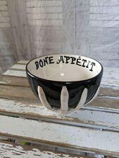 Ashland bone Halloween skeleton hand Bone Appetit serving bowl party large