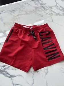 Bnwt mens calvin klein swim shorts Size M