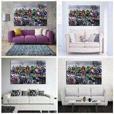 Peinture à l'Huile Tableau Abstraite Moderne Murale Décoration Enfant Chambre NF
