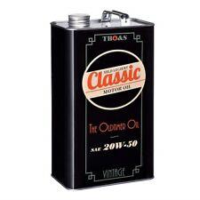 TBO&S Classic 5 Litres Moteur Oil Ultra-Léger Allié SAE 20W50 Huile pour