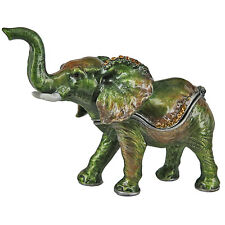 RUCINNI Elephane (Green) Trinket Box