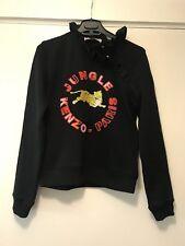 Kenzo H&M black jungle sweatshirt size xs