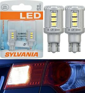 Sylvania Premium LED Light 921 White 6000K Two Bulbs Back Up Reverse Replace OE