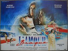 L'AMOUR BRAQUE Affiche Cinéma / Movie Poster Sophie Marceau 80x60