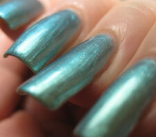 NEW! MISA Nail Enamel Polish Lacquer THE GREAT GREEN WHATSIT ~ Blue/Green Flash