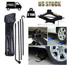 Spare Tire Tools Kit 2 Ton Scissor Jack Lug Wrench For 2004 2014 Ford F 150 Fits Ford