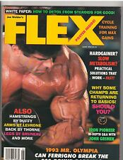 FLEX Bodybuilding Muscle Magazine/Lou Ferrigno/John Grimek Q + A 6-93