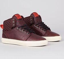 VANS Alomar AW (Militia) Brown/Red Clay High Top Shoes MEN'S 6.5 WOMEN'S 8