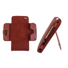 iPhone 4 4S Wallet Phone Credit Card Case | Chic Genuine Leather Swivel Stand