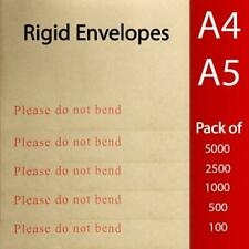 More details for do not bend envelopes please rigid cardboard c5 c4 hard backed self seal a4 a5