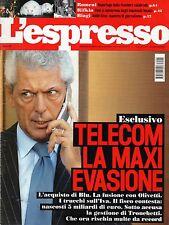 L'Espresso.Marco Tronchetti Provera,Tullio Pericoli,iii