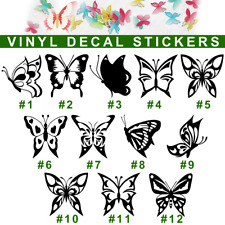Butterfly Vinyl Decal Sticker Car Window Bumper Wall Laptop Iphone Insects Wings
