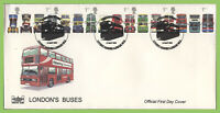 G.B. 2001 London Buses set Havering First Day Cover, Covent Garden, London WC2
