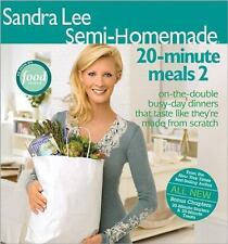 Semi-Homemade 20-Minute Meals 2 Vol. 2 by Sandra Lee (2006, Paperback)
