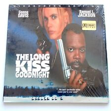 THE LONG KISS GOODNIGHT LASERDISC 1996 Widescreen Dolby Movie Geena Davis