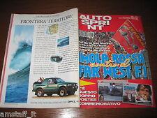AUTOSPRINT 1995/16-17=GUIDA GP F.1 SAN MARINO=RALLY SAFARI=FUJIMOTO=BETTEGA=