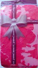 Pamela Mann Ornate Lace Tights, Black or Hot Pink