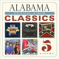 Original Album Classics by Alabama (CD, 2013, 5 Discs, Sony Legacy)