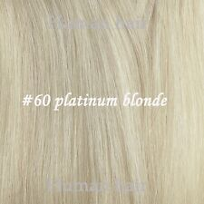 16-30inch 100g 100% Human Bundles Straight Hair Weft Make Fit Extensions
