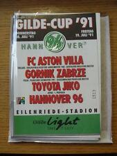 18/07/1991 Hannover Gilde Cup: Semi-Finals - Gornik Zabrze v Toyota Jiko & Hanno