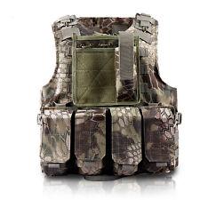 Barren mountain Python pattern Combat Tactical Soft Bullet proof vest IIIA