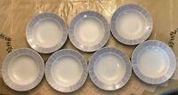 """Tienshan Fine Porcelain Radiance Halls Soup Bowls  9 1/4""""   Set of 7"""