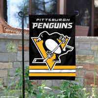 Pittsburgh Penguins Garden Flag and Yard Banner