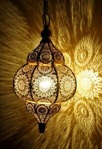 Modern Turkish Hanging Lamps Handmade Moroccan Ceiling Lights Home Lantern Gift