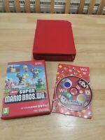 Nintendo Wii 25th Anniversary Super Mario Bro Red Limited Edition Console & Game