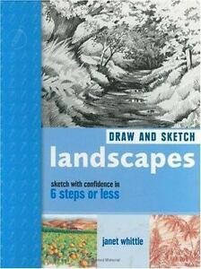 Draw and Sketch Landscapes in 6 steps or less Janet Whittle drawing technique