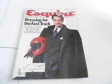 SEPT 1985 ESQUIRE mens fashion magazine FAST TRACK