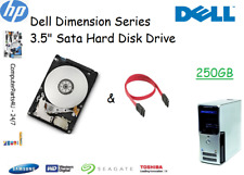 "250 Go Dell Dimension 9100 3.5"" Disque Dur SATA (HDD) Remplacement/UPGRADE"