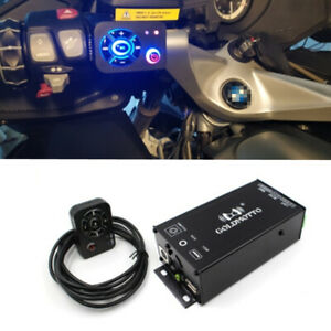 35W x4 Motorcycle Audio Amplifier MP3 Player FM Radio Booster Bluetooth USB AUX