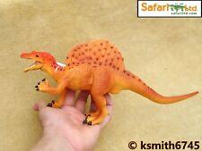 Safari Espinosaurio hueco Plastic Toy Jurassic prehistórico Dinosaurio * Nuevo * 💥
