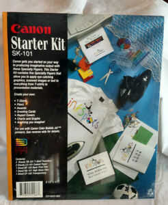 Canon Starter Kit Sk-101 - Create Your Own T-shirts, Fliers, Awards and more