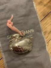 New ListingRm Trush Sterling Christmas Ornament Duck Rare Vintage