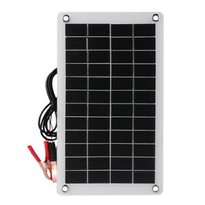 40W Solar Panel 18V Trickle Charge Battery Charger Maintainer Marine RV Car