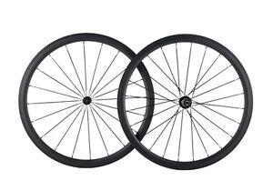 700C Bicycle Wheels 38mm Depth Tubular/Clincher/Tubuless Road Bike Wheelset R13