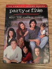 PARTY OF FIVE - BOX SET - COMPLETE SECOND (2) SEASON - USED - FREE S/H (M5)